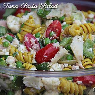 Veggie Tuna Pasta Salad.