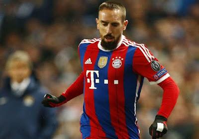 Guardiola calme Franck Ribéry