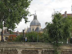 Photo: The dome of Sainte-Chapelle. It is coming shortly.