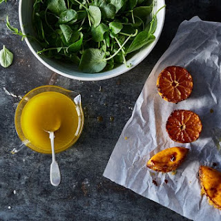 Caramelized Tangerine Vinaigrette.
