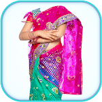 Kids Half Saree Photo Editor Icon