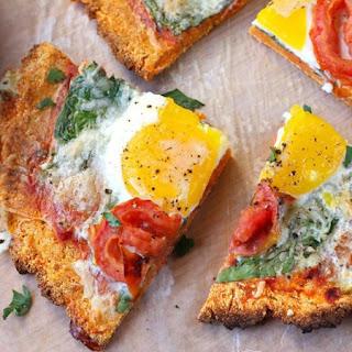 Sweet Potato Breakfast Pizza.
