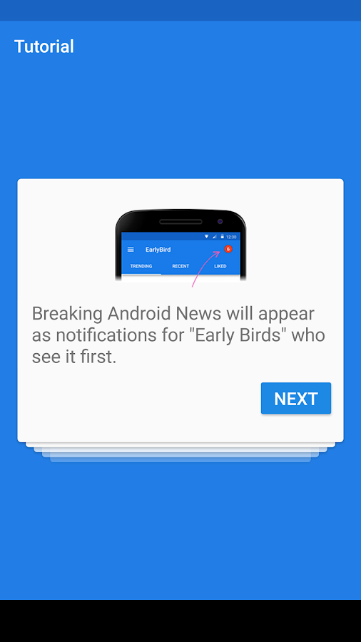EarlyBird - News for Android™- screenshot