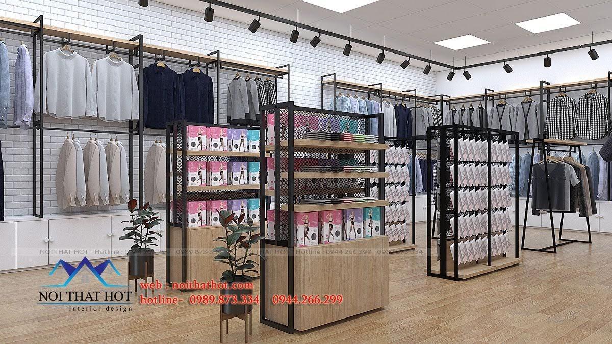thiết kế shop thời trang uniqlo 8
