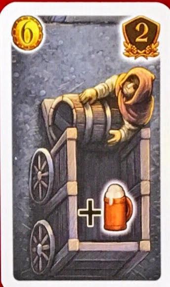 追加ビールカード|【レビュー】ティーフェンタールの酒場 (Die Tavernen im Tiefen Thal)
