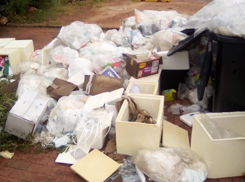 Medical waste dumped in Centurion sparks concern