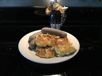 Sauerkraut & Potato Cakes