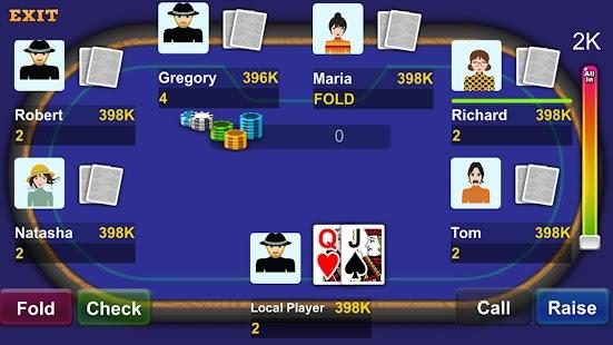 Casino Texas Poker Slot machine - náhled