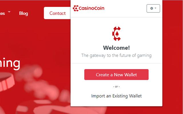CasinoCoin Wallet