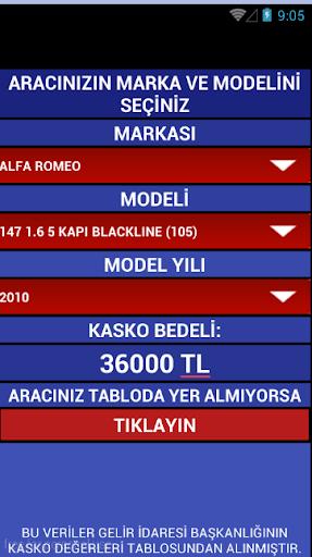 KASKO DEĞERLERİ