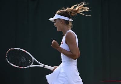 Maryna Zanevska strandt in de eerste kwalificatiewedstrijd op Wimbledon