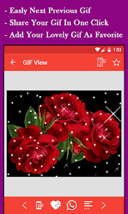 Flowers GIF - náhled