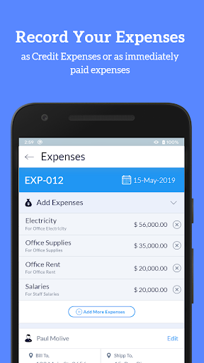 Accounting Bookkeeping - Invoice Expense Inventory 1.75 screenshots 5