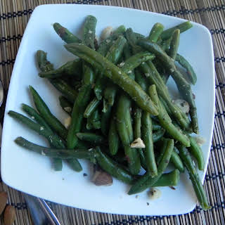 Sautéed Green Beans with Almonds.
