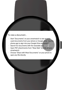 Documents for Android Wear Screenshot 10