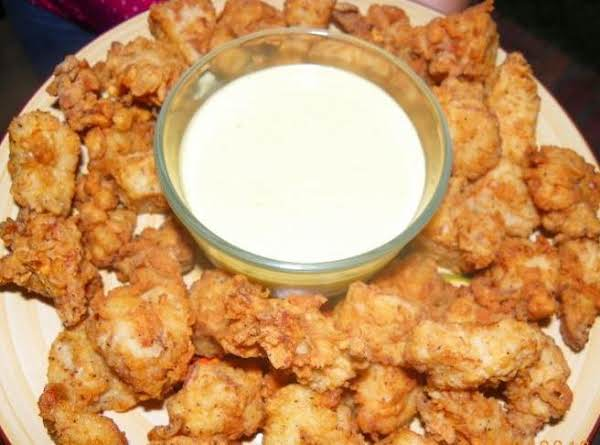 This Recipe Makes More Than This,  Just Put A Few On The Plate..i Sauced Some Up For My Hubby With Some Hot Wing Sauce.