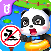 Baby Panda's Child Safety Icon