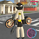 Stickman Bat Rope Hero Dark knight Crime
