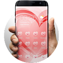 Hearts of Love Launcher Theme v 2.0