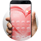 Hearts of Love Launcher  Theme