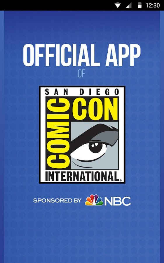 Official Comic-Con App- screenshot