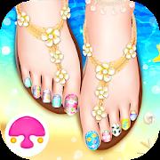 Seaside Feet Salon: Girl Game