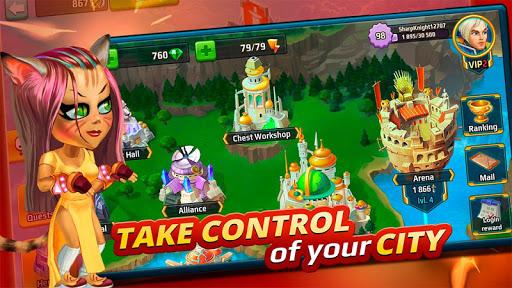 Battle Arena: Heroes Adventure - Online RPG 1.7.1401 screenshots 8