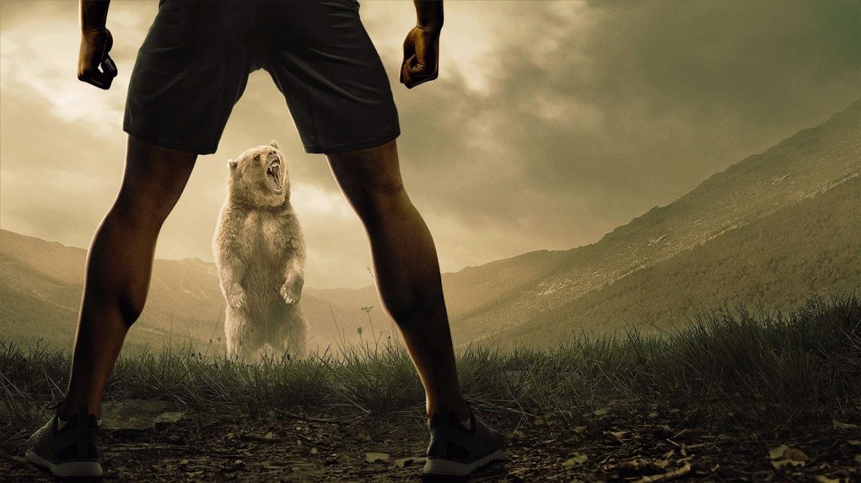 Watch Man vs. Bear live