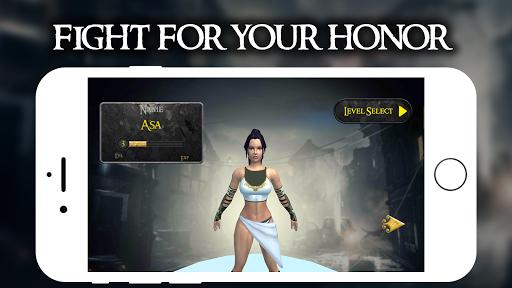 Amazon Warrior Vs  Zombie - Rpg War Game 1.0.3 screenshots 2
