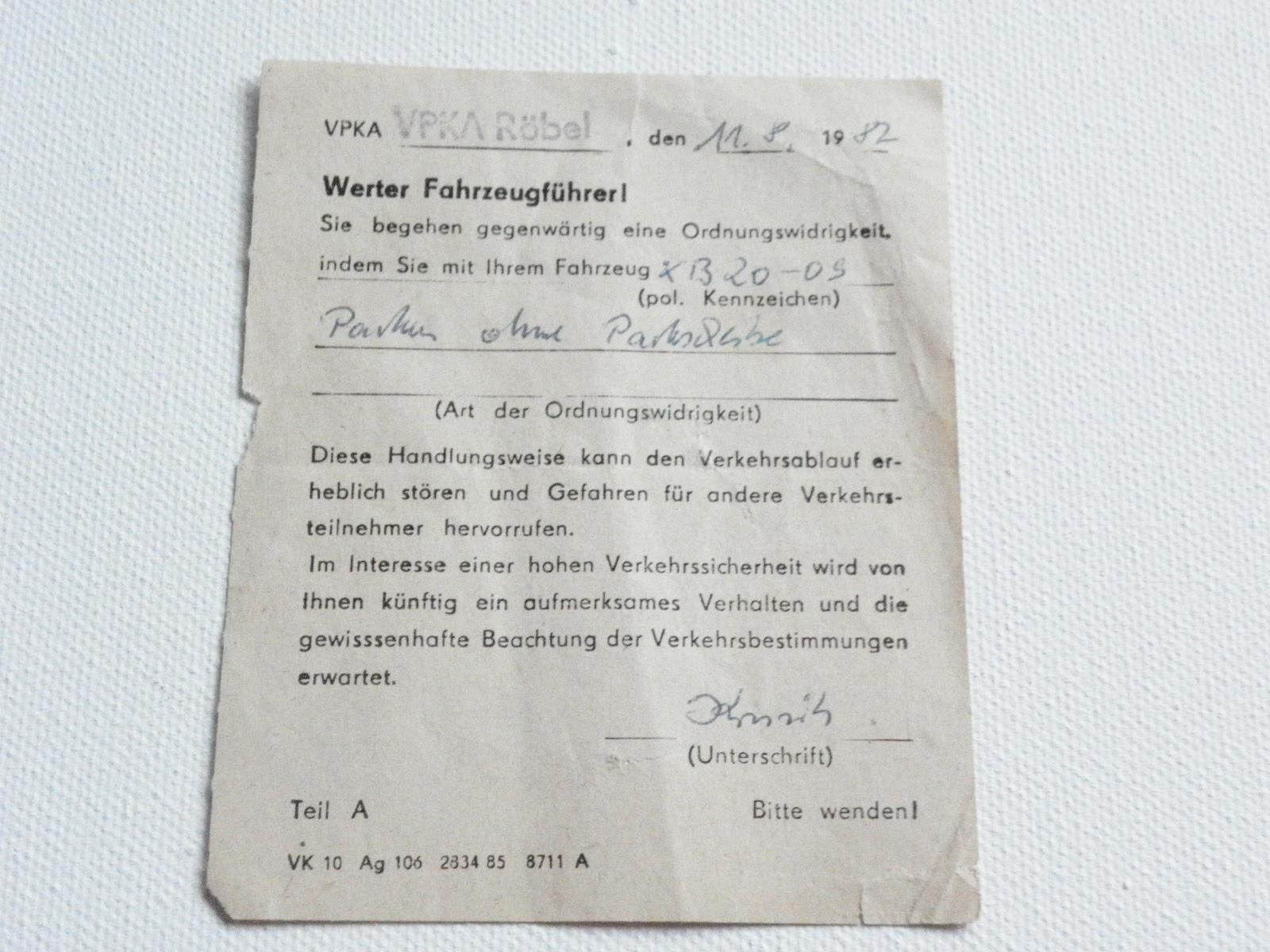 DDR Knöllchen