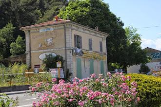 Photo: L'ancienne gare.