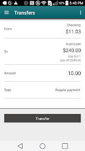 IAA Credit Union Mobile- screenshot thumbnail