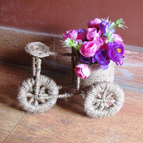 ROPE CYCLE by Tina Banik - Artistic Objects Toys ( flowers, cycle, object )