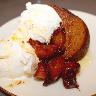 Gluten-Free Honey Cake with Caramelized Apples