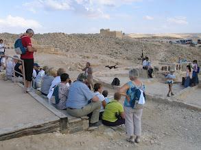 """Photo: Désert du Negev : site d'Avdat (cité sur la route de caravanes connue sous le nom de """"Routes des Épices."""" )"""