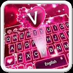 Pink Romantic Rose Keyboard Icon