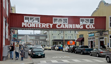 Photo: 14. As I mentioned earlier, the focus of this trip was to spend five days around the Monterey area. I stayed in Seaside, a nearby town, because the lodging costs are much lower there, compared to if you want to be near the water within Monterey itself. ... Cannery Row fronts the ocean, with the famous Monterey Bay Aquarium anchoring it, for drawing in tourists. There are many shops along this area and of course, quite a few seafood restaurants ... a nice place to stroll. Parking, if you're coming in from another town - or if you're staying further out in Monterey - can definitely add up. It was $1.50 per hour or $10 for the full day anywhere near the waterfront.