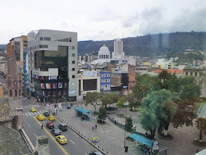 Photo: View of Ambato from 6th floor of hotel