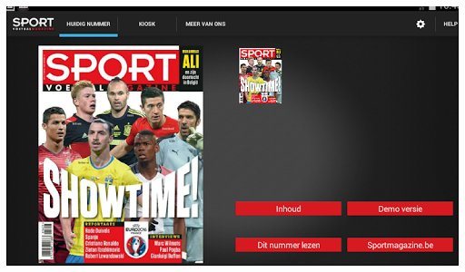 Sport/Voetbalmagazine HD screenshot 7
