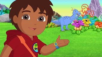 Dora und Diego bei den Dinos