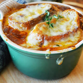 The Best French Onion Soup.