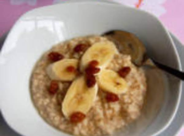 Quick Healthy Breakfast Porridge