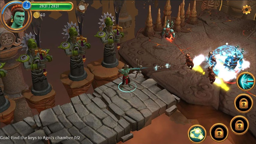 android Gamaya Legends Screenshot 2