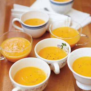 Cream of Carrot and Turnip Soup with Maple Syrup Recipe