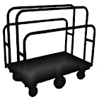 Contractor Cart Job List icon