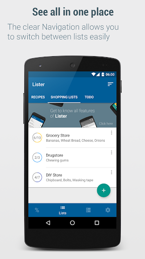 Shopping List – Lister v5.6 [Pro]