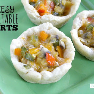 CHEESY VEGETABLE TARTS
