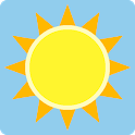 Sun position and path icon