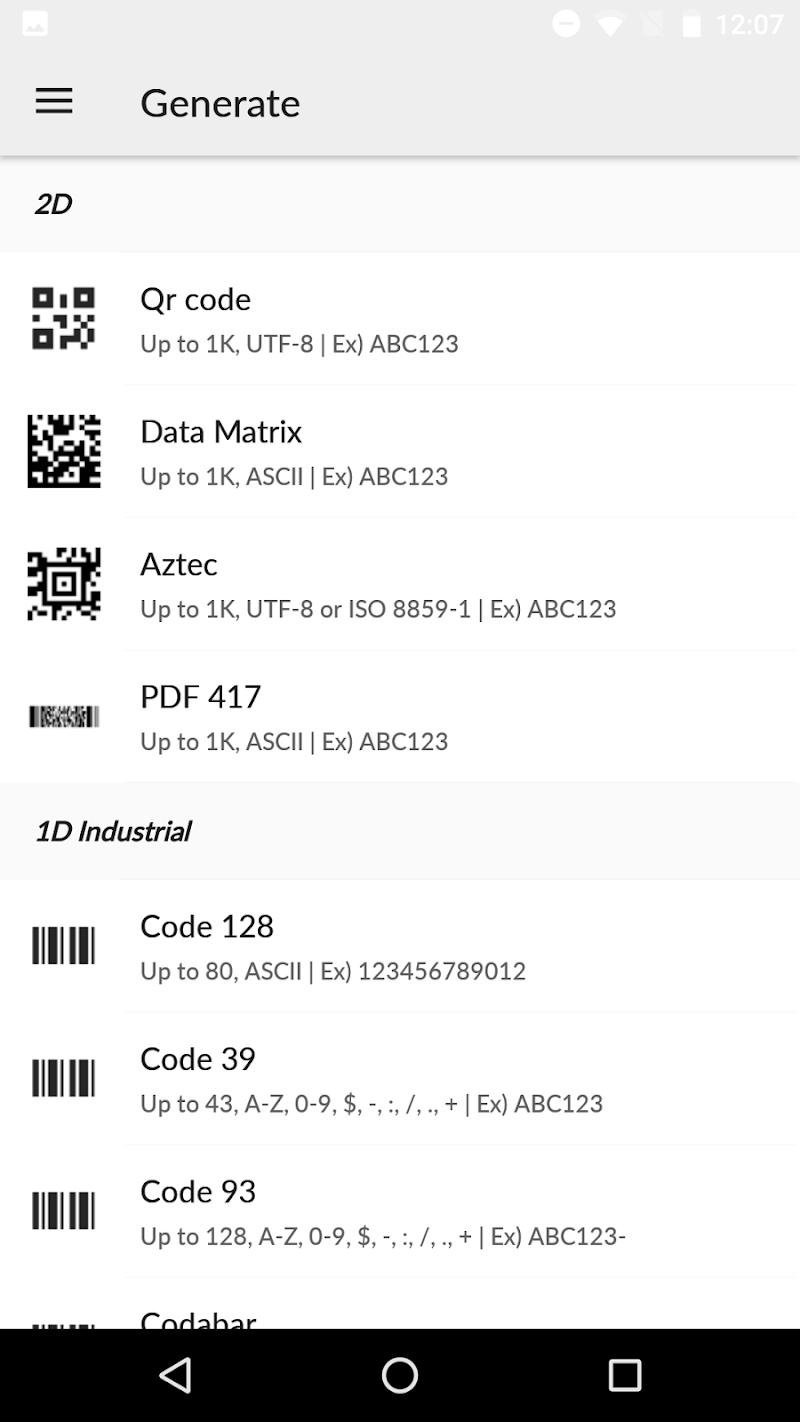 QR BarCode Screenshot 3