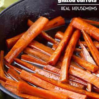 Easy Balsamic Glazed Carrots
